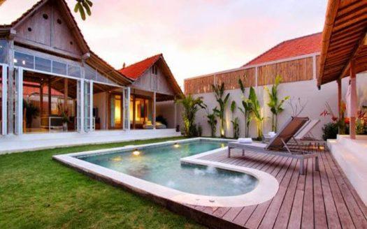 Garden pool villa corner view - Villa Zenal