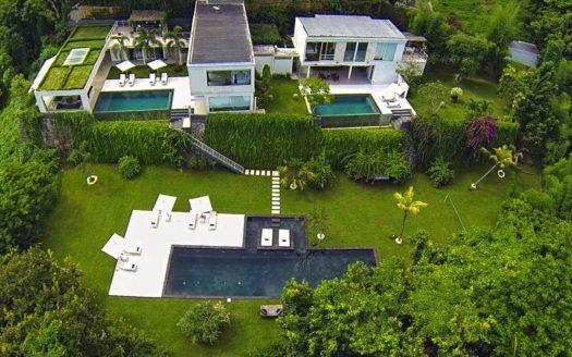 aerial view - villa in bali